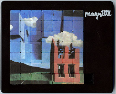 Magritte puzzle...solved!