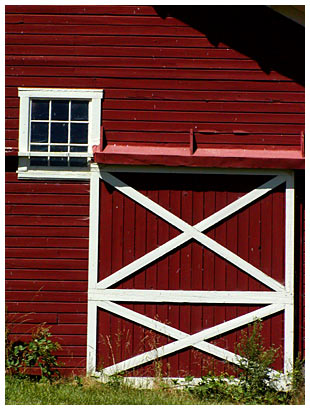 barn door picture