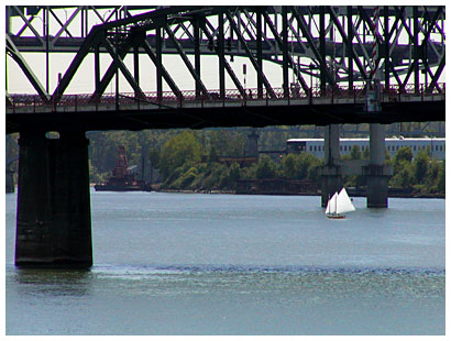 Sailing on the Willamette
