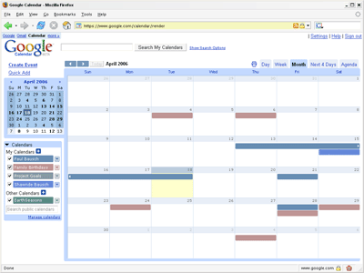 calendar post import