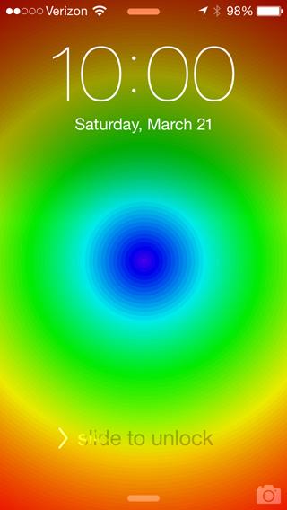 iphone circles