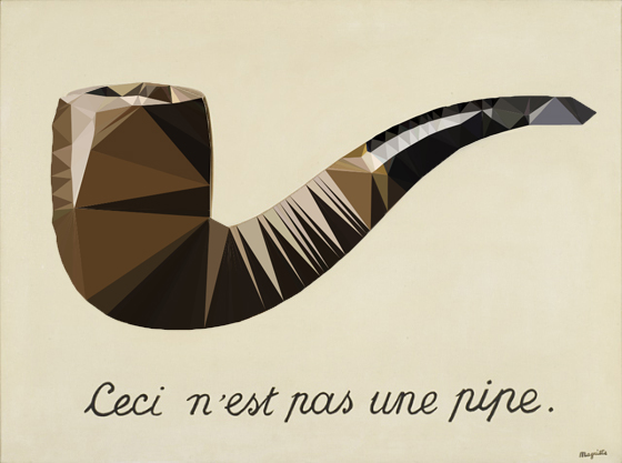 ruined magritte